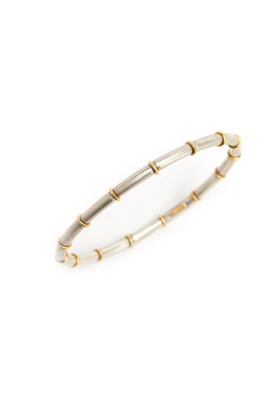 Gurhan - Gold Ring Sterling Silver Bracelet