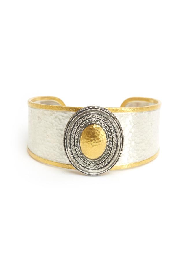 Sterling Silver Cavalier No Stone Bracelet