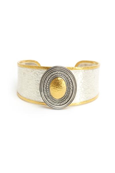Gurhan - Sterling Silver Cavalier No Stone Bracelet