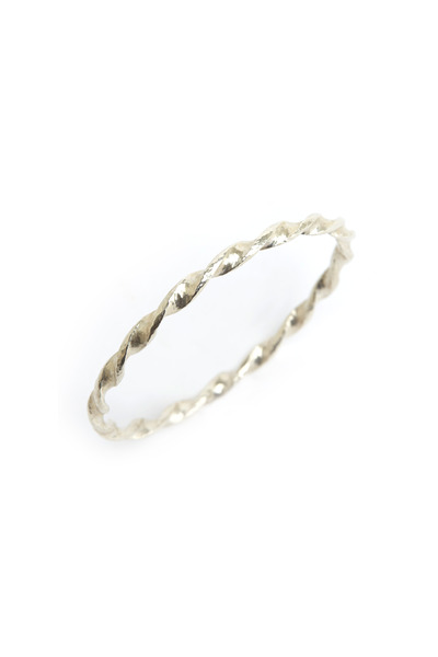 Gurhan - Sterling Silver Twisted Wide Bangle