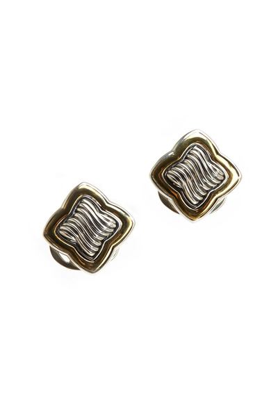 Precious - Sterling Silver Quatrefoil Earrings