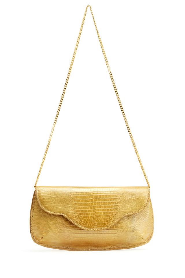 Gold Lizard Clutch