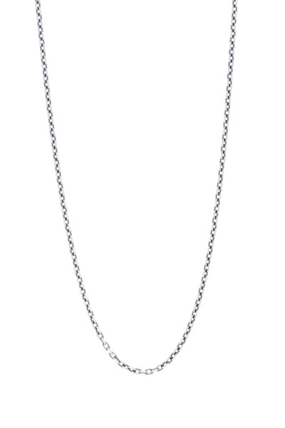 Sylva & Cie - Oxidized Sterling Silver Chain