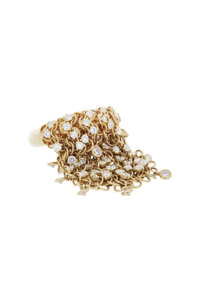 Mattia Cielo - Yellow Gold Chain Ring