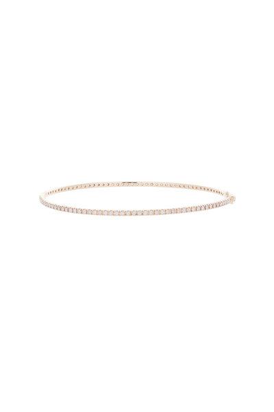 Nam Cho - Pink Gold Diamond Bangle