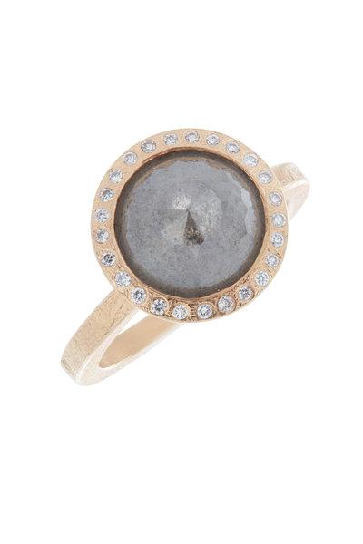 Todd Reed - Gray Rose Cut Diamond Ring