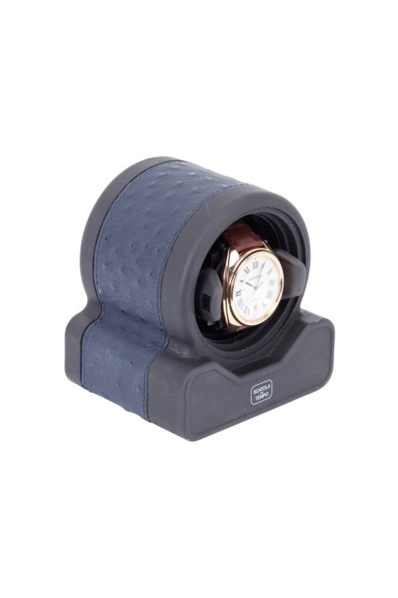 Scatola del Tempo Navy Blue Watch Winder