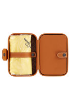 Scatola del Tempo - Tan Leather Trousse