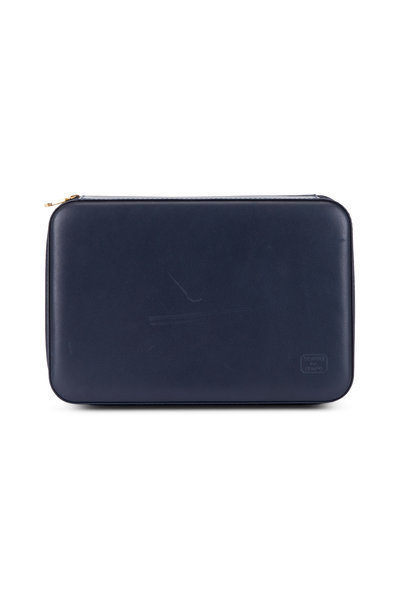 Scatola del Tempo - Navy Blue Leather Case