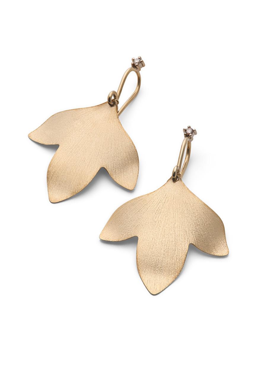 Gold Hera Earrings