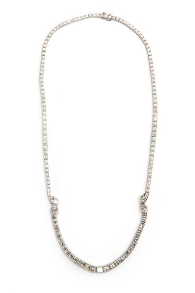 Oscar Heyman - Platinum Diamond Necklace