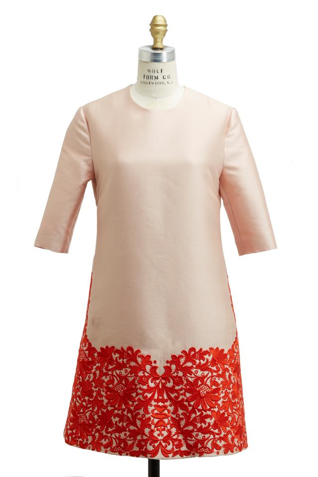 Rose Shantung Dress