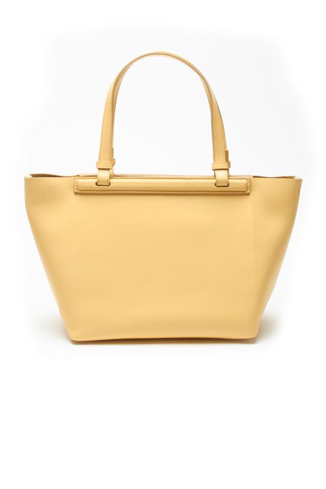 Canary Leather Mini Shopper Handbag