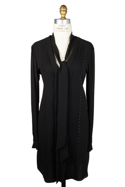 Belstaff - Wingham Black Silk Dress