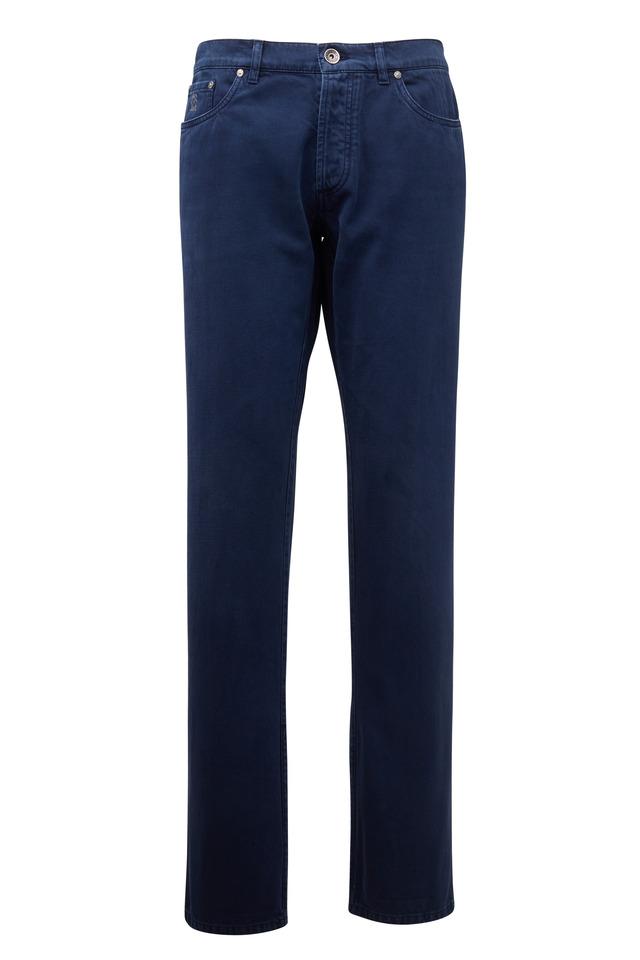 Navy Blue Basic Fit Jean