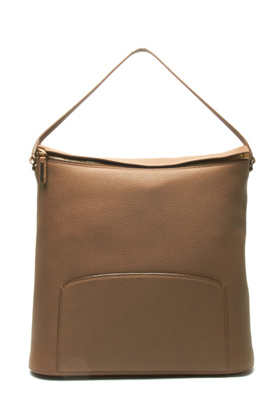 The Row - Wood Leather Crossbody Hobo Handbag