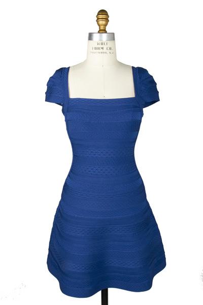 Herve Leger - Sapphire Dress