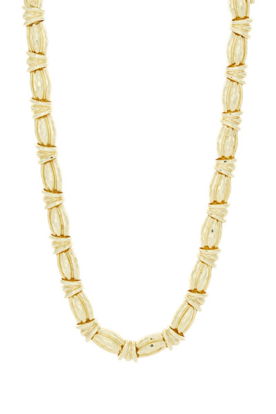 Fred Leighton - Hammered Knot Necklace