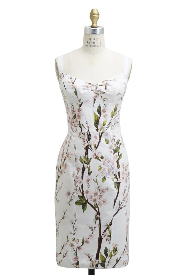 White Cotton Stuioa Dress