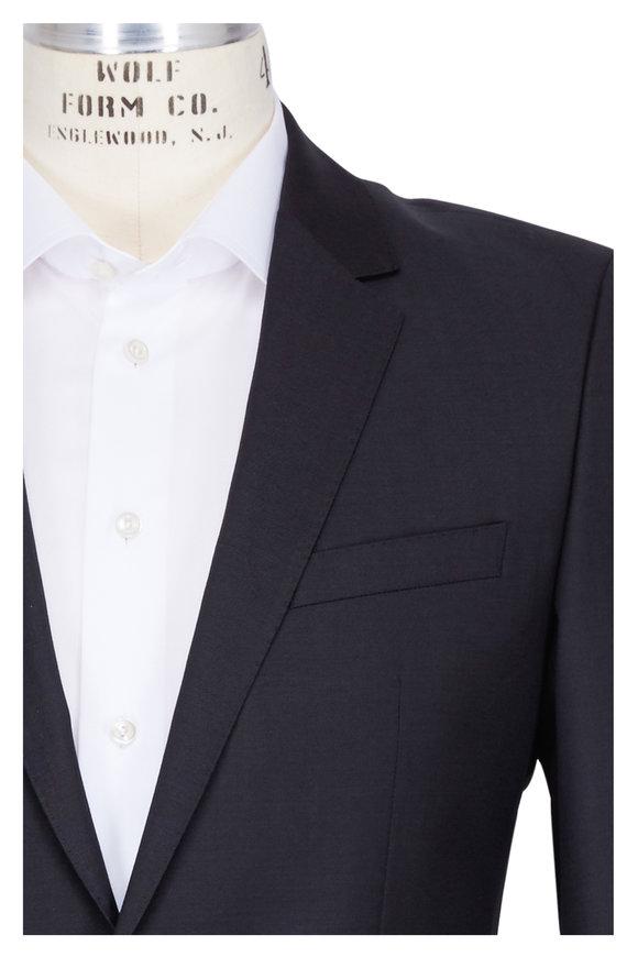 Boss Hugo Boss Genius Charcoal Gray Wool Suit
