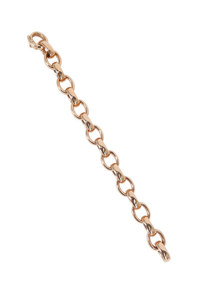 Monica Rich Kosann - Rose Gold Extra Large Link Chain Bracelet