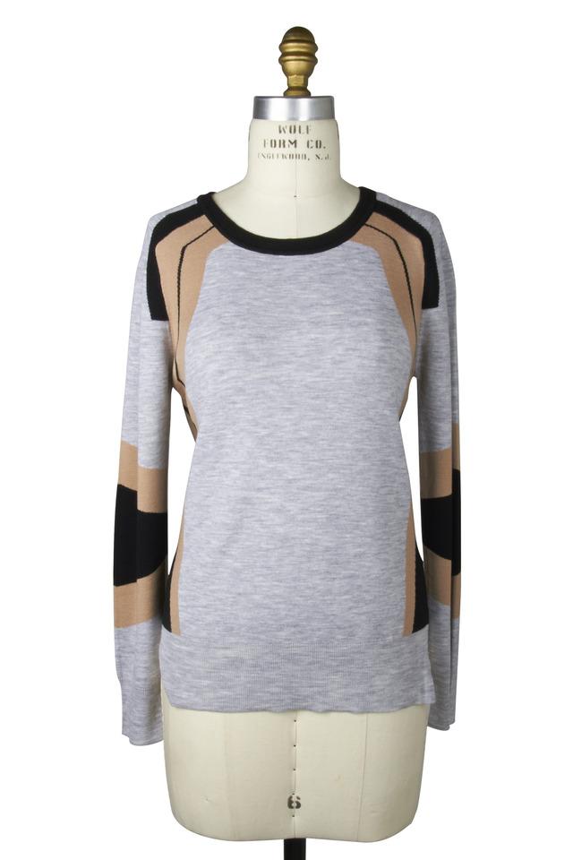 Grey Merino Wool Sweater