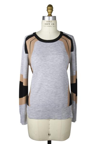 Belstaff - Grey Merino Wool Sweater