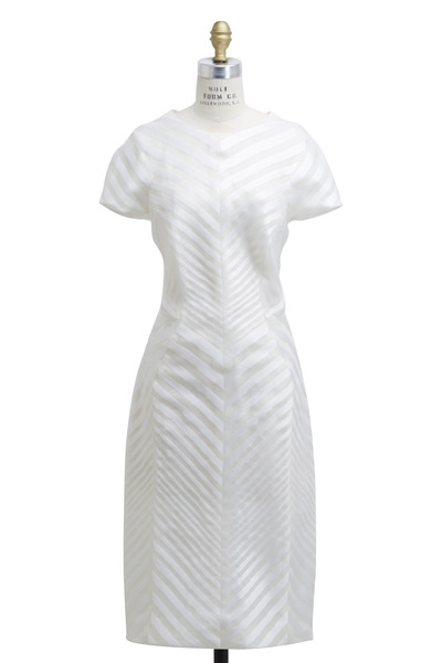 J. Mendel - Ivory Silk Dress