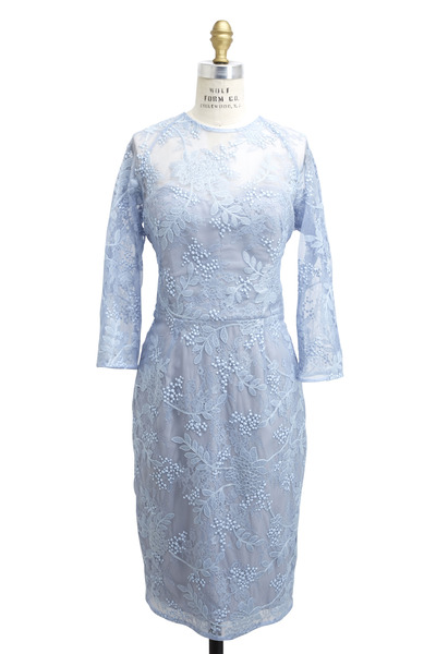 Lela Rose - Ice Viscose & Polyester Dress