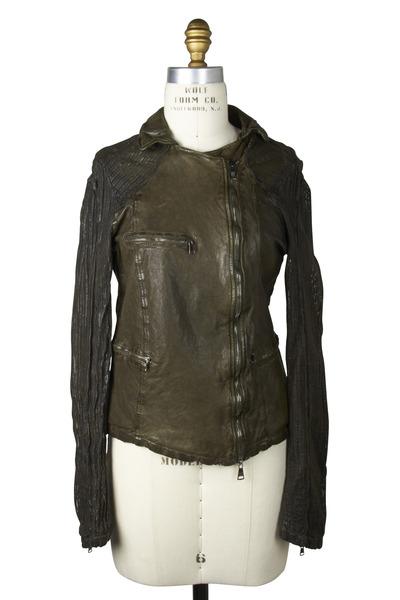 Giorgio Brato - Military Leather Jacket