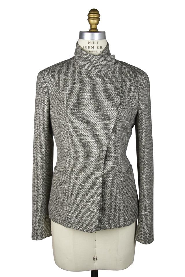 Barnes Black & White Bouclé Jacket