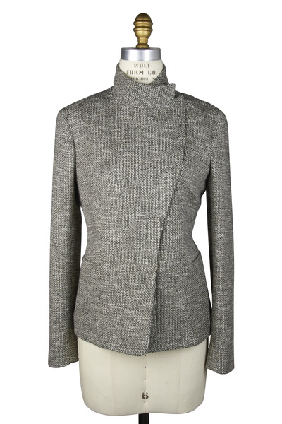 The Row - Barnes Black & White Bouclé Jacket