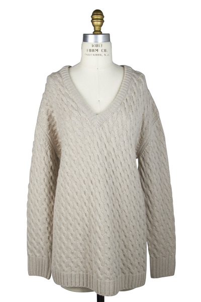 The Row - Oleos Clay Cashmere Sweater