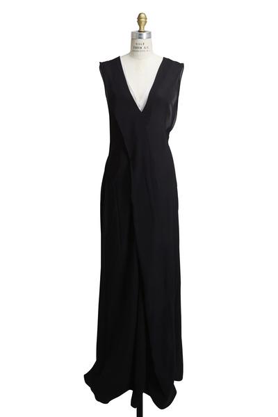 Reed Krakoff - Black Georgette Gown
