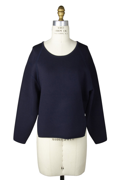 J Brand - Jill Compact Cotton Sweater