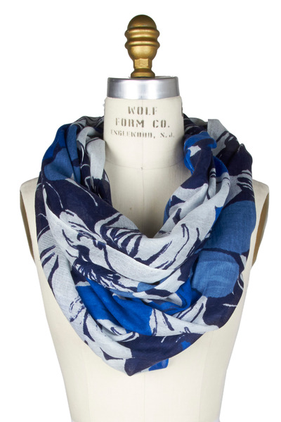 Kinross - Resort Floral Print Scarf