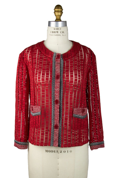 Etro - Red Cotton Jacket