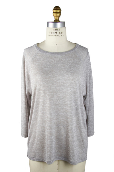 Vince - Heather Grey Raglan T-Shirt