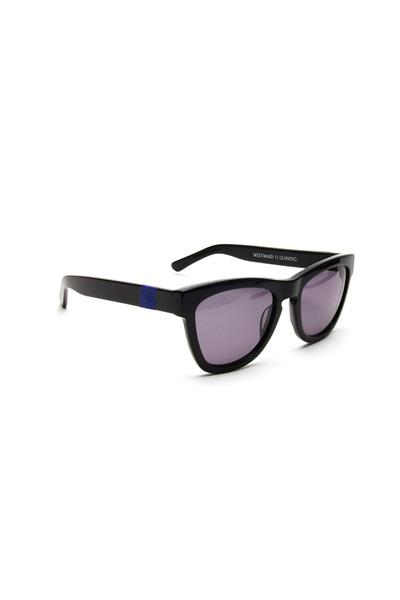 Westward Leaning - Black & Navy Sunglasses