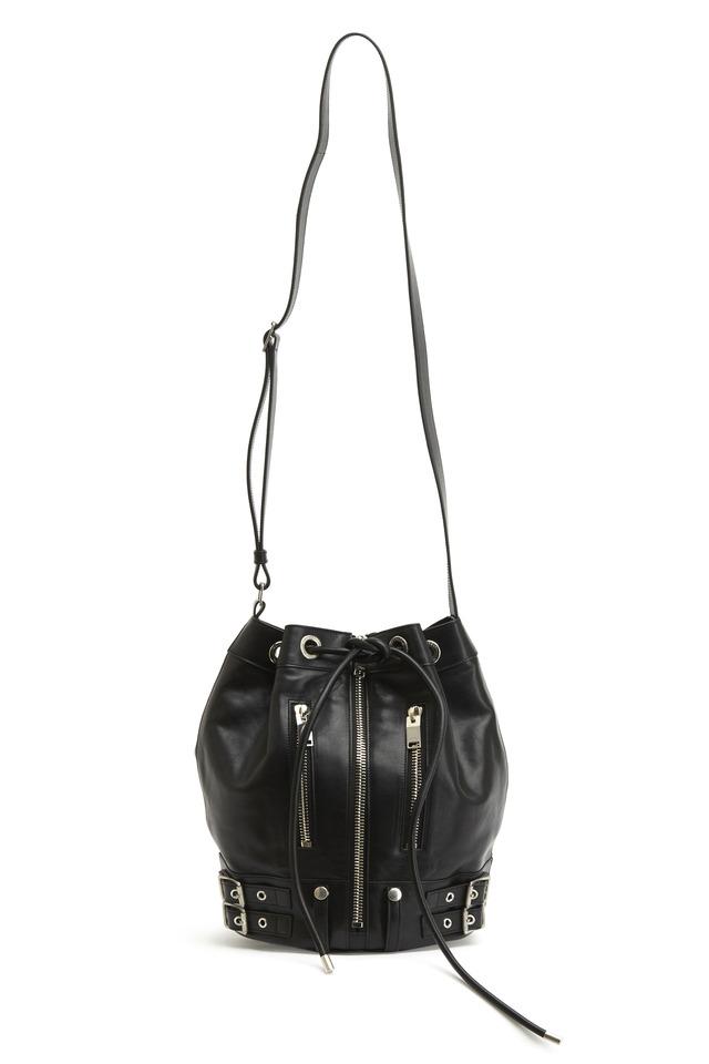 Noir Medium Rider Bucket Bag