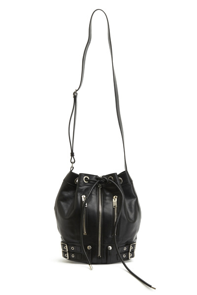 Saint Laurent - Noir Medium Rider Bucket Bag