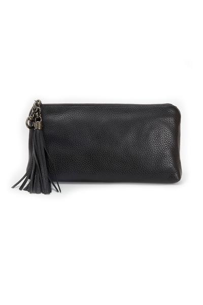 Gucci - Broadway Black Leather Clutch