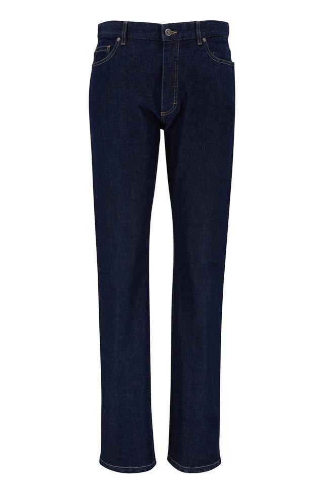 Dark Indigo Stretch Jeans