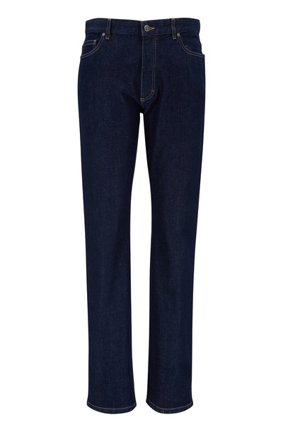 Ermenegildo Zegna - Dark Indigo Stretch Jeans