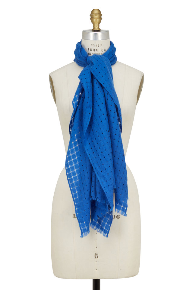 Surfside Cashmere Open Weave Scarf