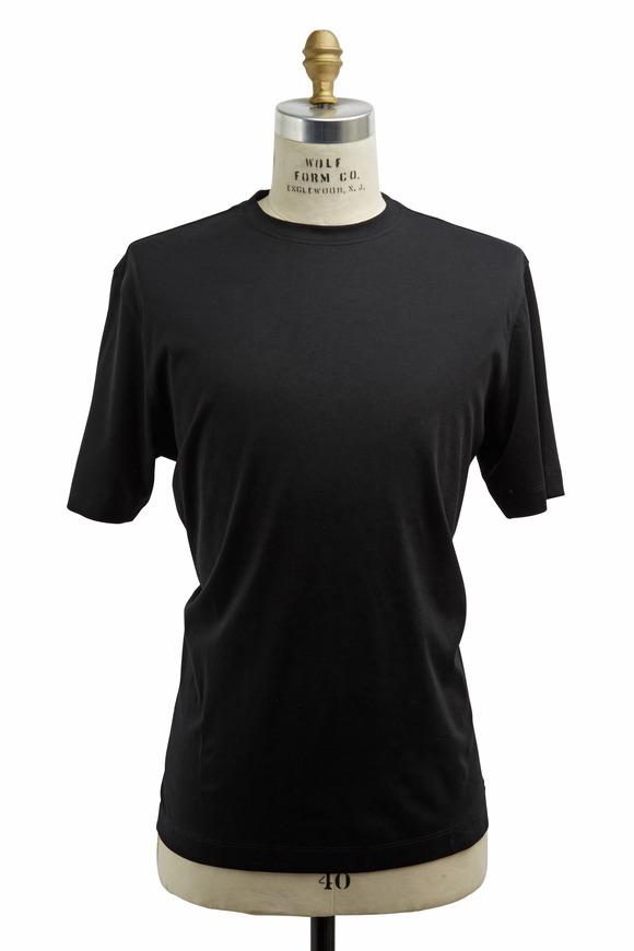 Left Coast Tee Black Cotton T-Shirt