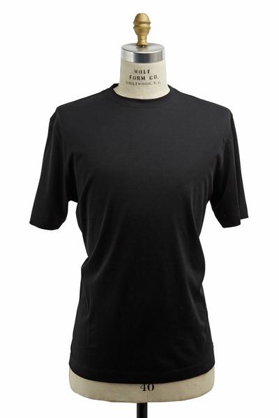Left Coast Tee - Black Cotton T-Shirt