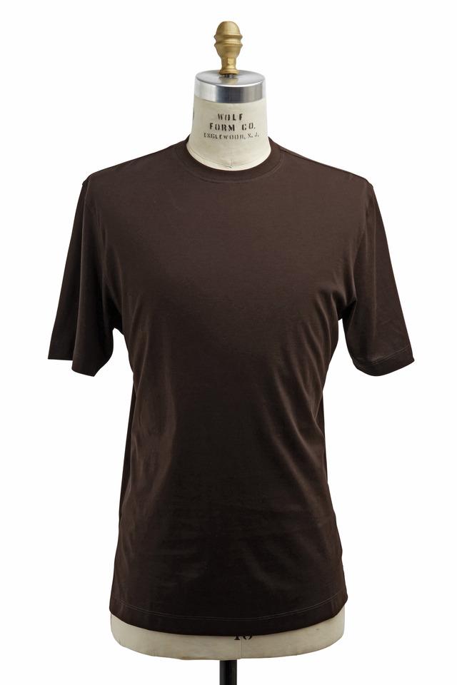 Chocolate Cotton T-Shirt