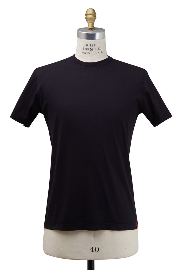 Agave Black Supima Jersey T-Shirt