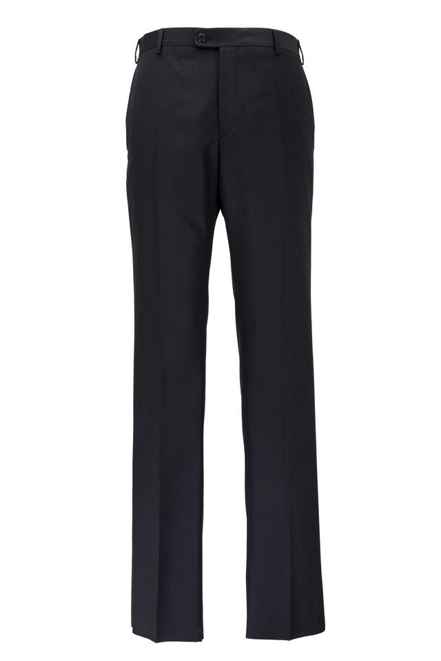 Devon Black Super 120's Wool Pant